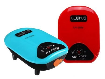 2 in 1 USB Aquarium Air Pump
