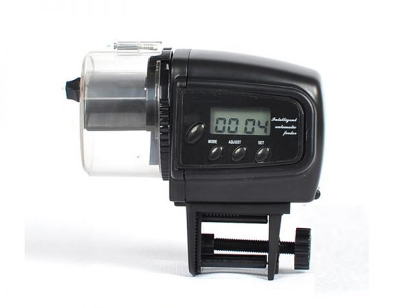 Automatic Fish Feeder with Digital LCD