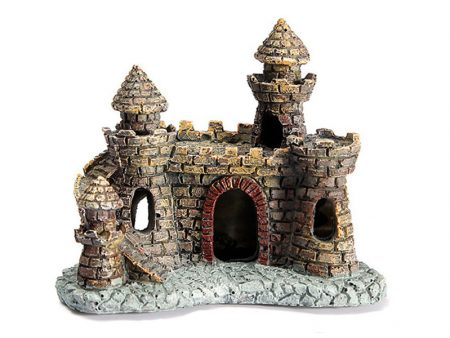 Resin Castle Aquarium Decoration