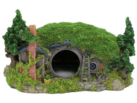 Aquarium Decoration Hobbit House