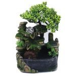 Feng Shui Zen Meditation Indoor Resin Waterfall Fountain