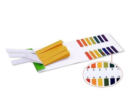 Pack of 80 pH Testing Strips