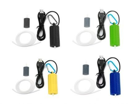Portable Mini USB Aquarium Fish Tank Oxygen Air Pump