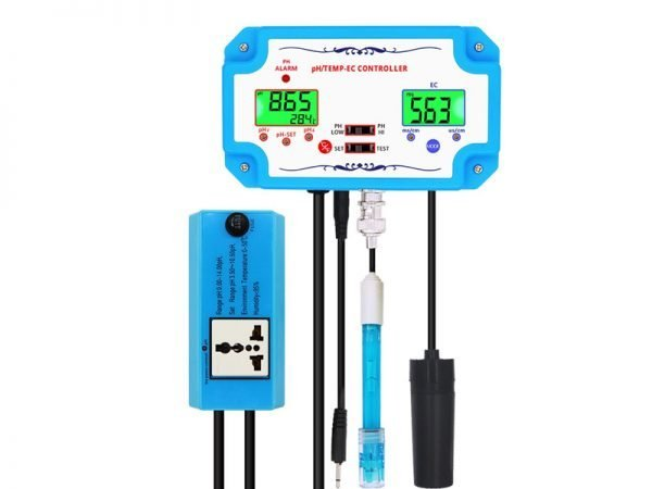 3 in 1 pH_Temp_EC Water Quality Controller