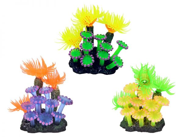 Artificial Coral Silicone Aquarium Decoration