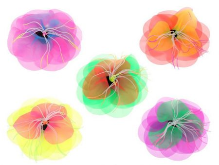 Artificial Fluorescent Flower Silicone Aquarium Decoration