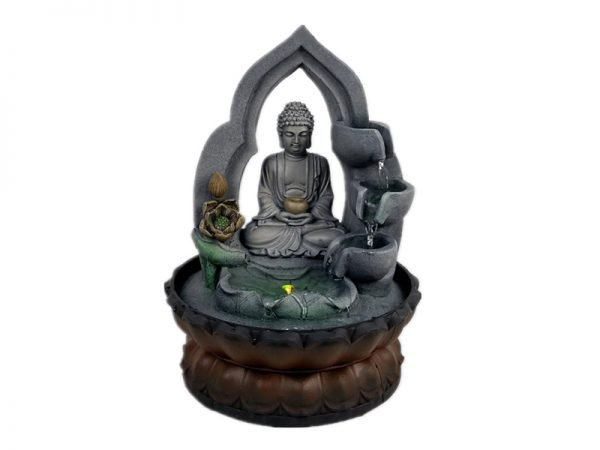 Buddha Statue Indoor Water Fountain With LED Light
