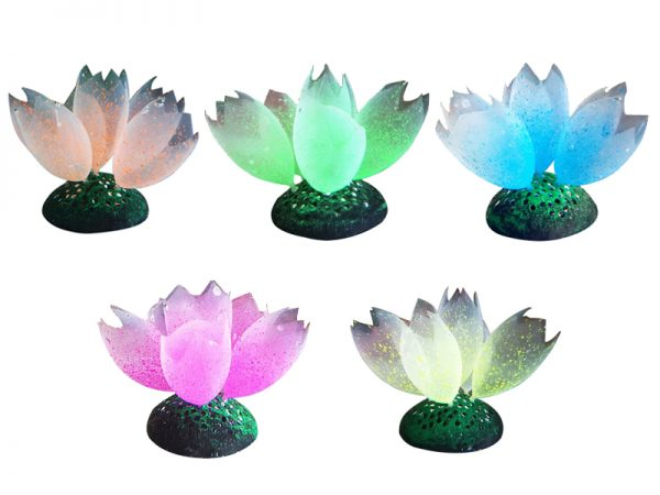 Glow Artificial Silicone Coral Aquarium Decoration