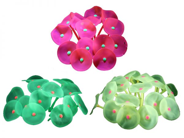 Glowing Silicone Artificial Coral Plant