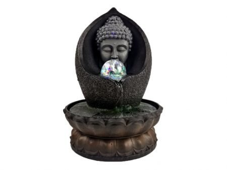 Indoor Running Water Fountain Buddha Statue