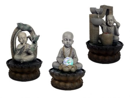 Little Monk Zen Indoor Water Fountain