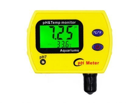 Professional Portable Online PH & Temp Water Quality Meter
