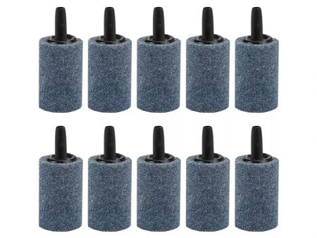 Set Of 10 Air Stone Cylinder For Aquarium