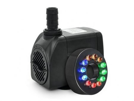 Submersible Aquarium Water Pump with LED Lights