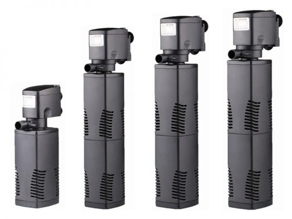 3 in 1 Submersible Aquarium Internal Filter