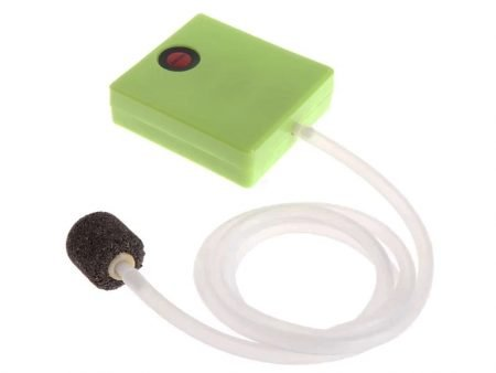 Mini Aquarium Air Pump Dry Battery Operated