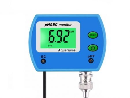 Professional 2 in 1 pH & EC Water Quality Monitor