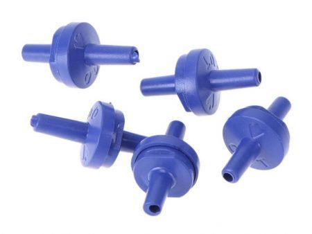 Set of 5 One Way Non-Return Valve