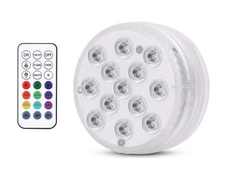 Submersible Light Lamp With Remote