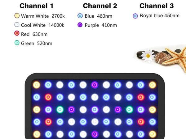 Bluetooth LED Aquarium Marine Light